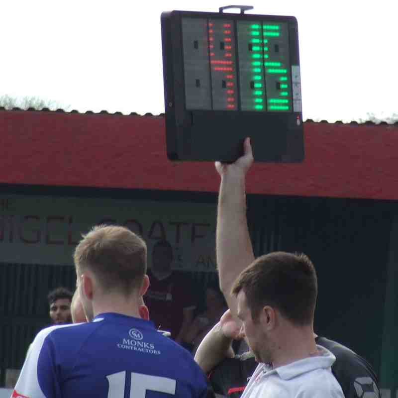 Colne 3-0 Clitheroe 22-04-19