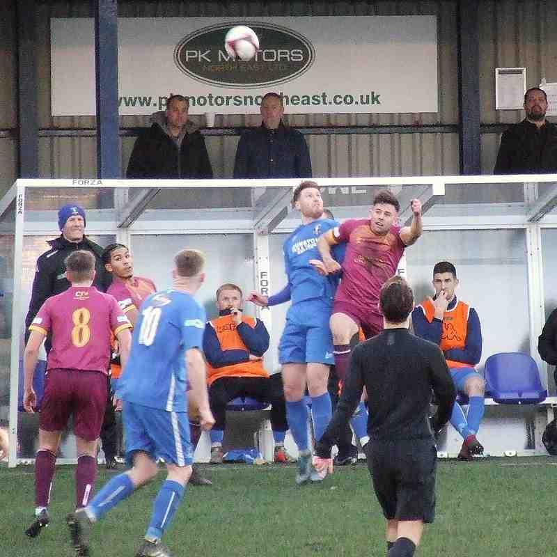 Dunston FC 0-0 Clitheroe 25-01-20