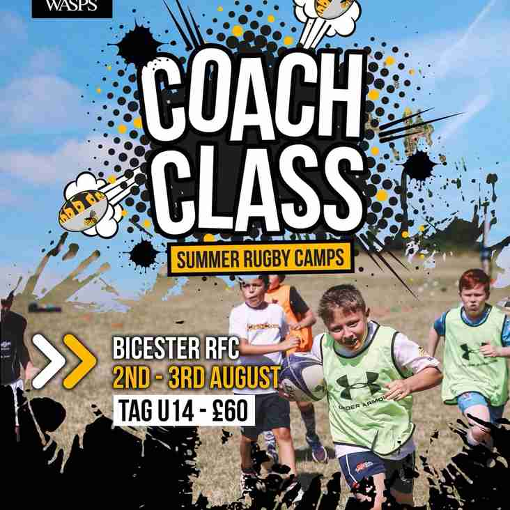 Wasps Coach Class - 2nd/3rd August