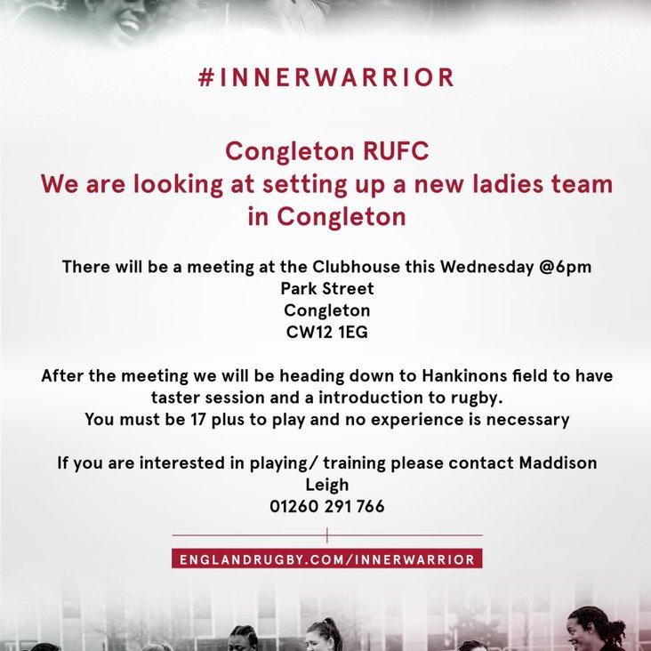 Congleton RUFC - Ladies Team <