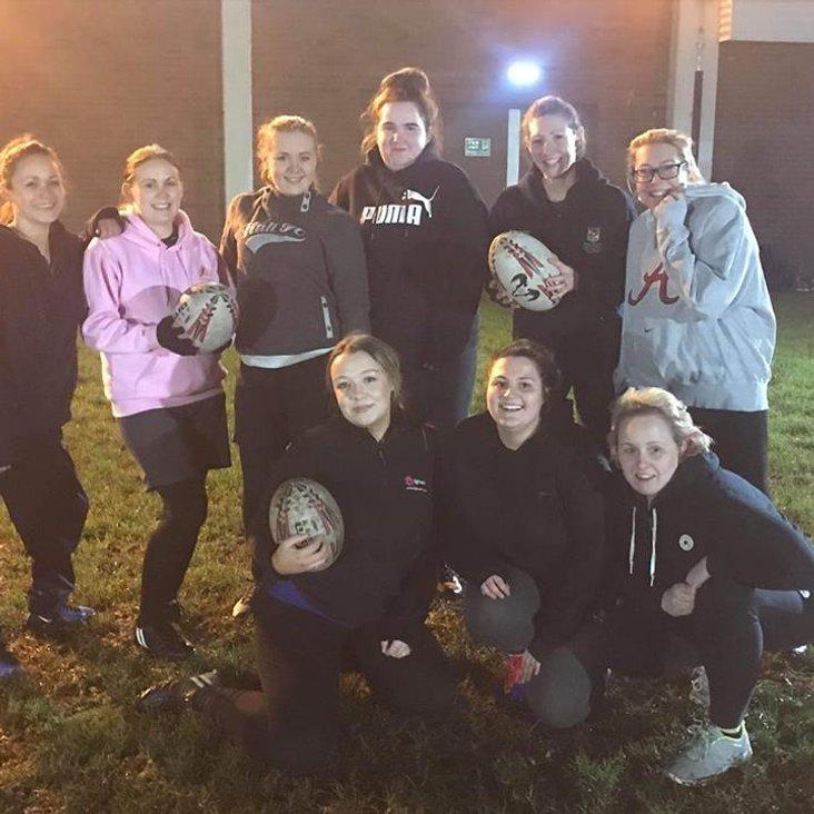 Congleton Ladies Rugby Team - Training Update <