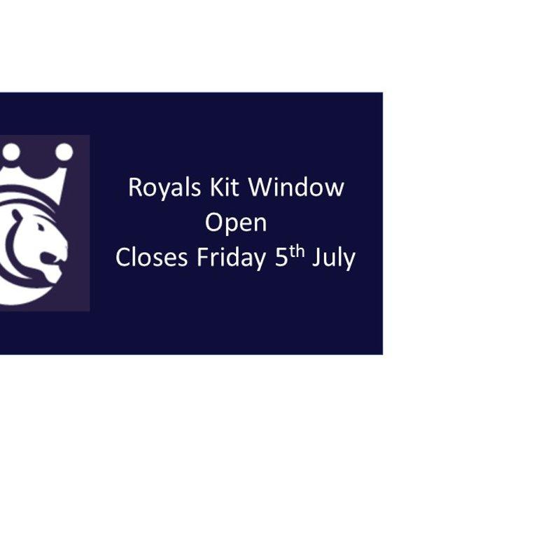 Royals Kit Window