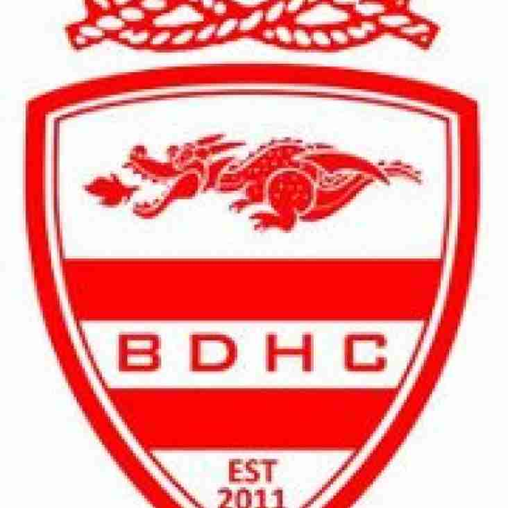 BDHC represented at England Hockey Performance Centres