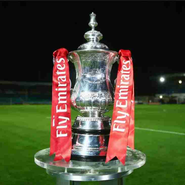 FA Cup Competition Fixtures released
