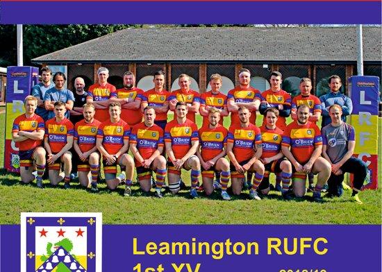 2018/19 1st XV Leamington v Nuneaton Old Edwardians