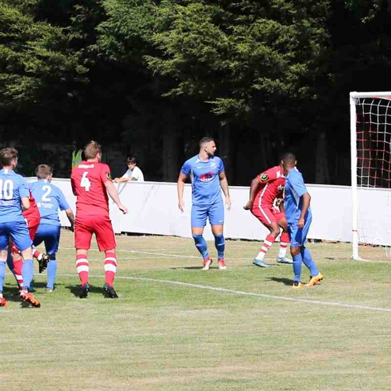 Whitstable Town 3 Herne Bay 0 (26/8/19)