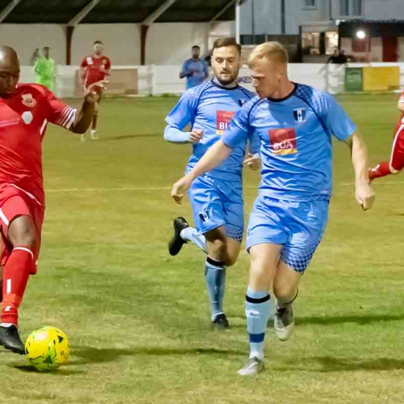 Whitstable Town 1 Cray Valley 1 (17/9/19)