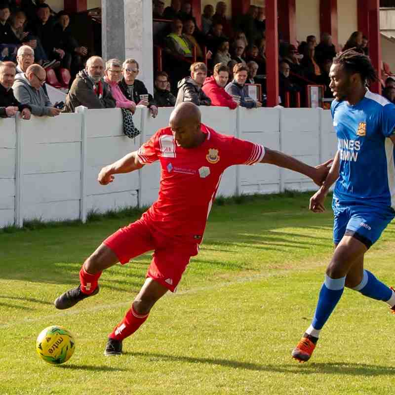 Whitstable Town 2 Three Bridges 0 (5/10/19)