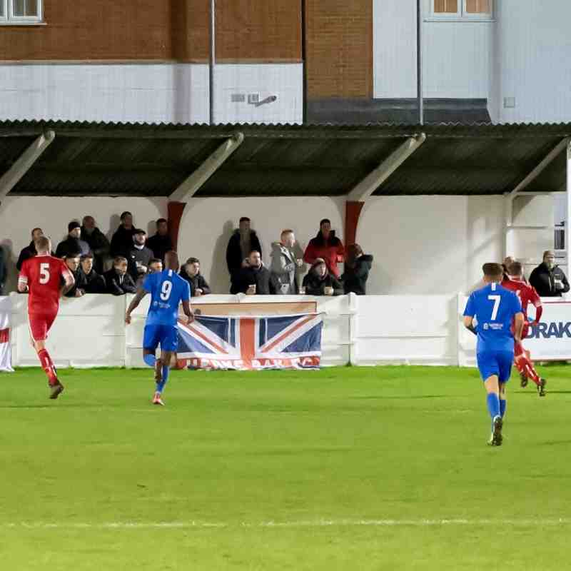 Whitstable Town 1 Herne Bay 4 (12/11/19)