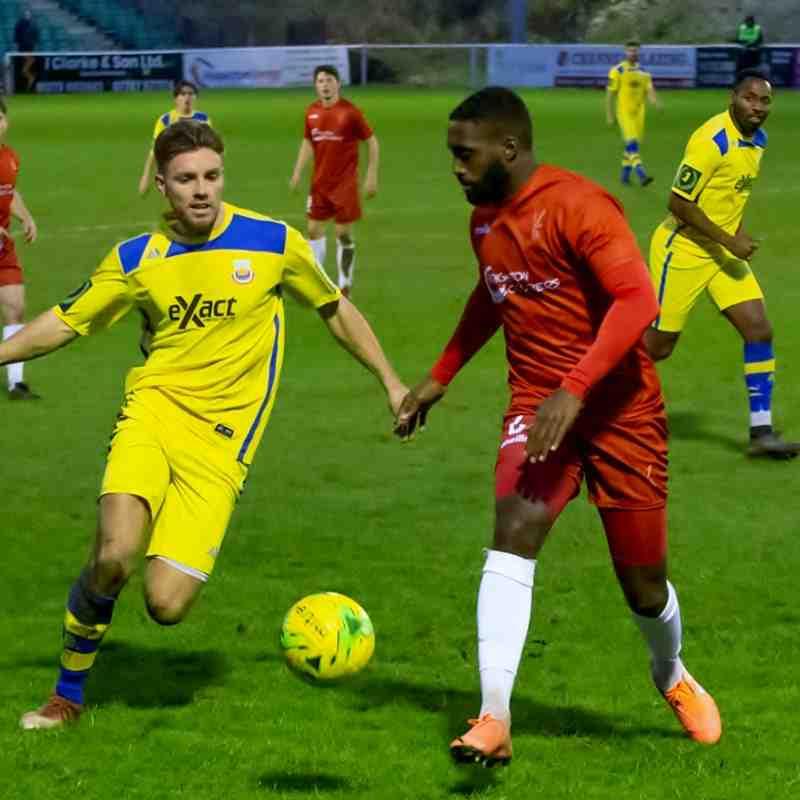 Aaron Millbank takes on Marvin Hamilton