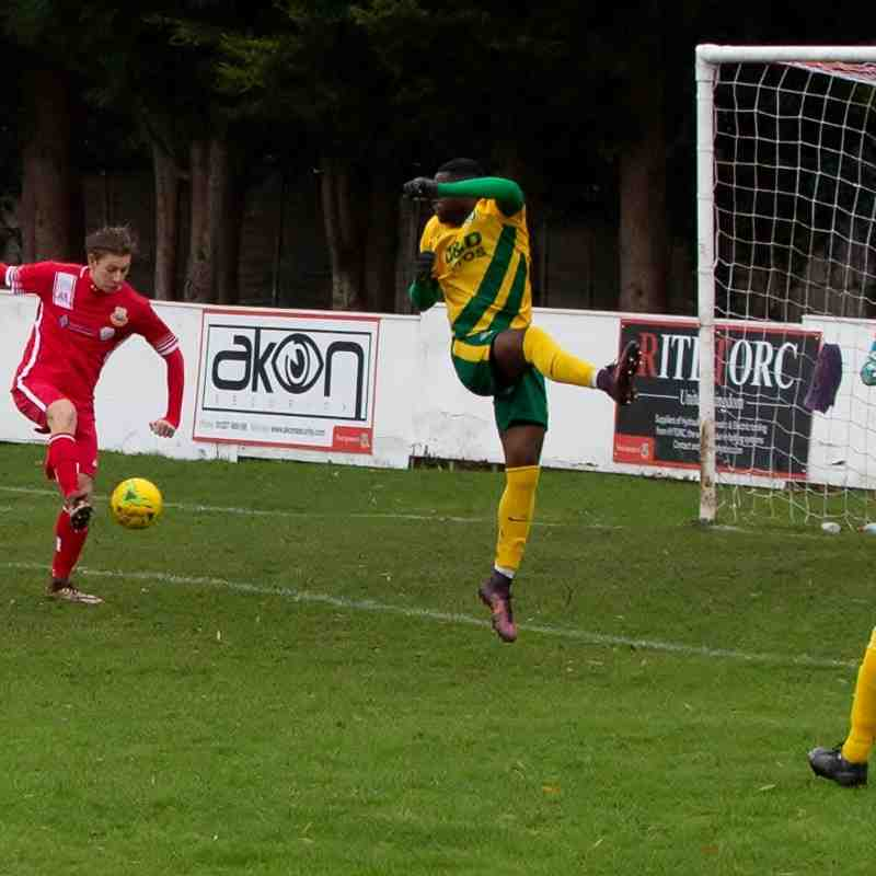 Whitstable Town 1 Ashford United 2 (26/12/19)