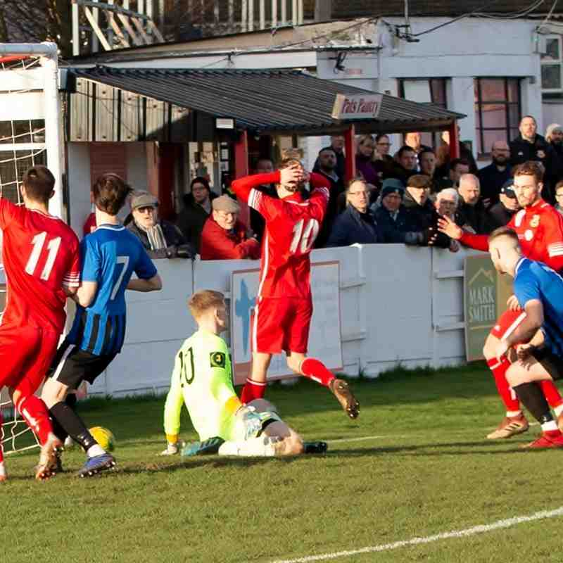Whitstable Town 2 Burgess Hill Town 1 (1/2/20)
