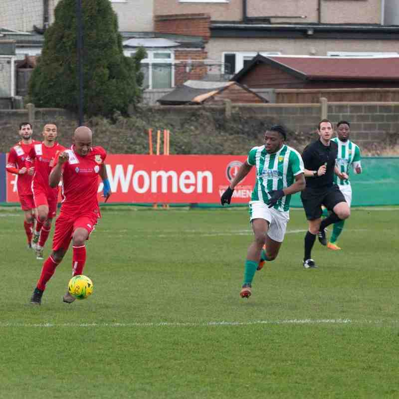 VCD Athletic 1 Whitstable Town 0 (22/2/20)