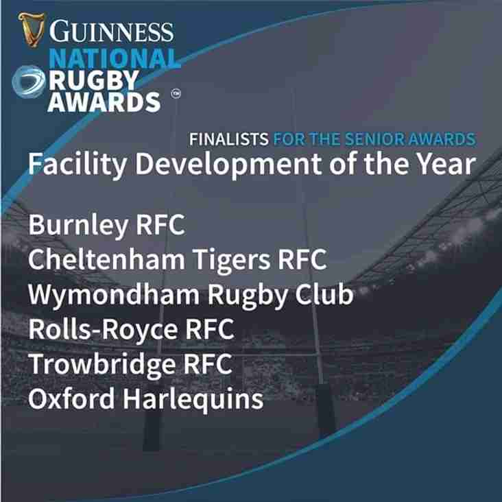 Rolls-Royce RFC shortlisted for Award