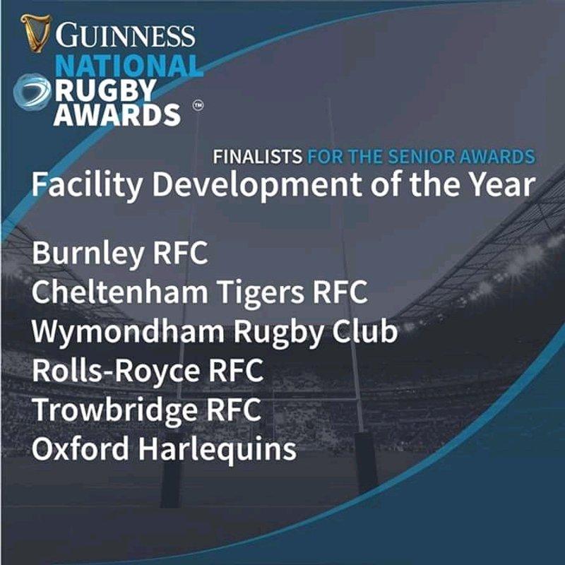 Rolls-Royce RFC shortlisted for Award