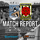 MATCH REPORT | MAGPIES 4-1 CHORLEY