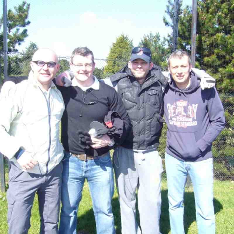 Larne RFC Fun Golf day April 2012