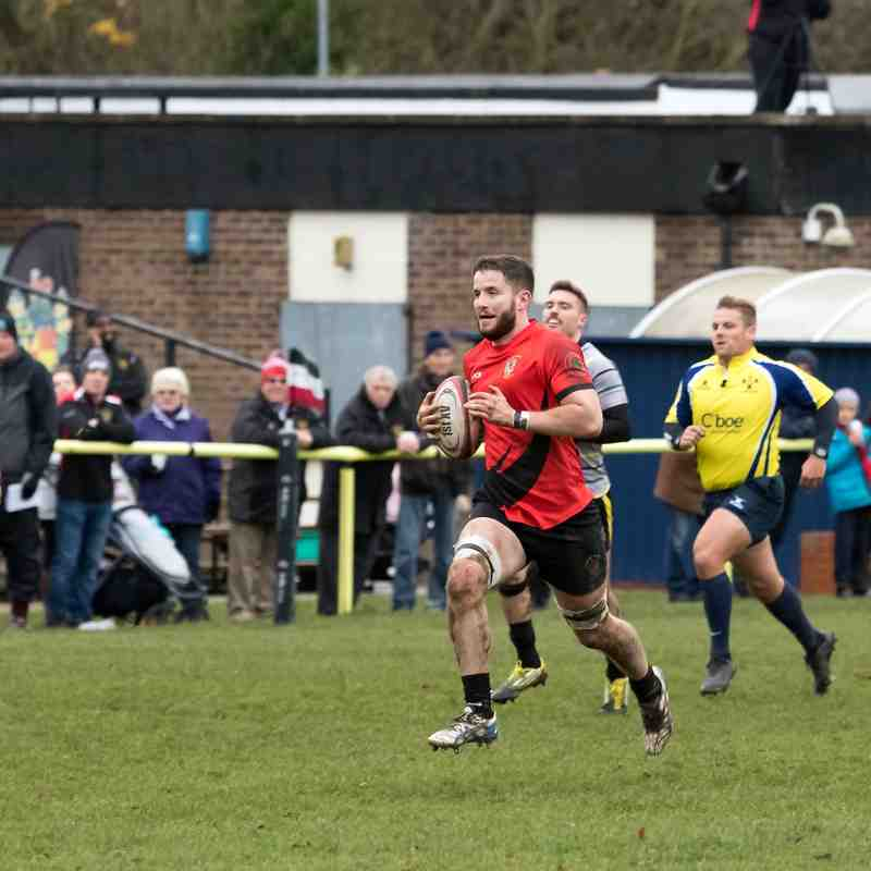 RHRFC vs Old Priorians 1st December 2018