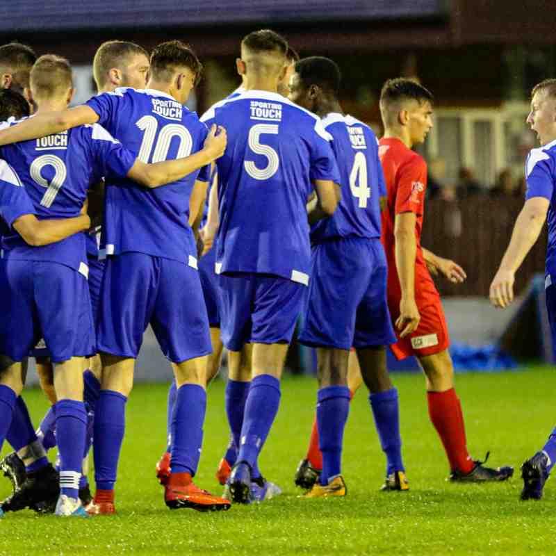 Nuneaton Borough U18's 2 - 1 AFC Hinckley U18's