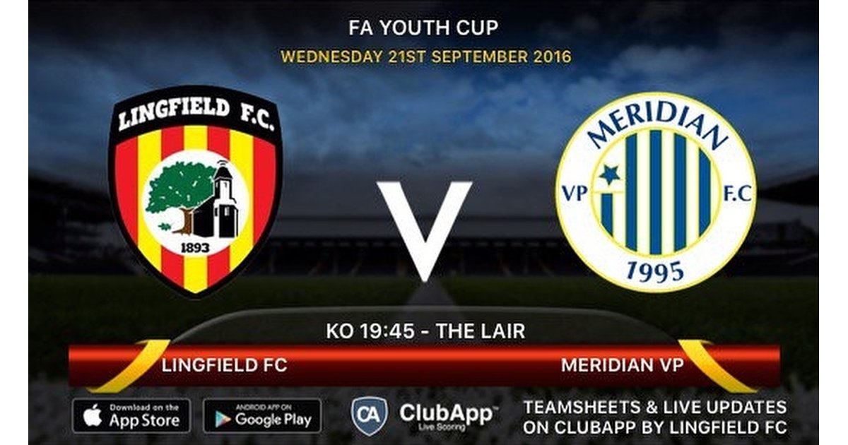 FA Youth Cup - Club photos - Lingfield FC
