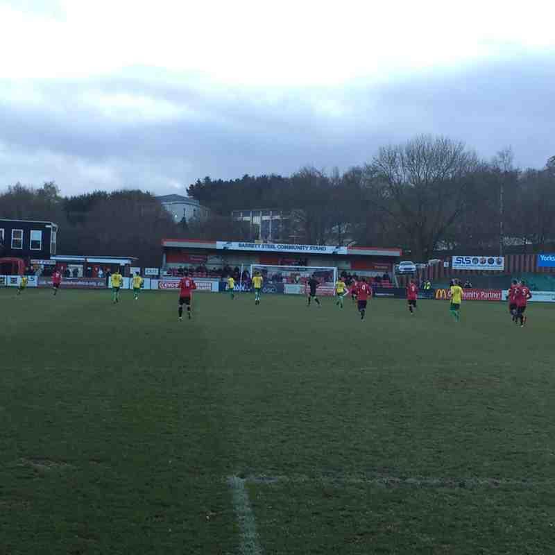 Sheffield FC v Fenmen