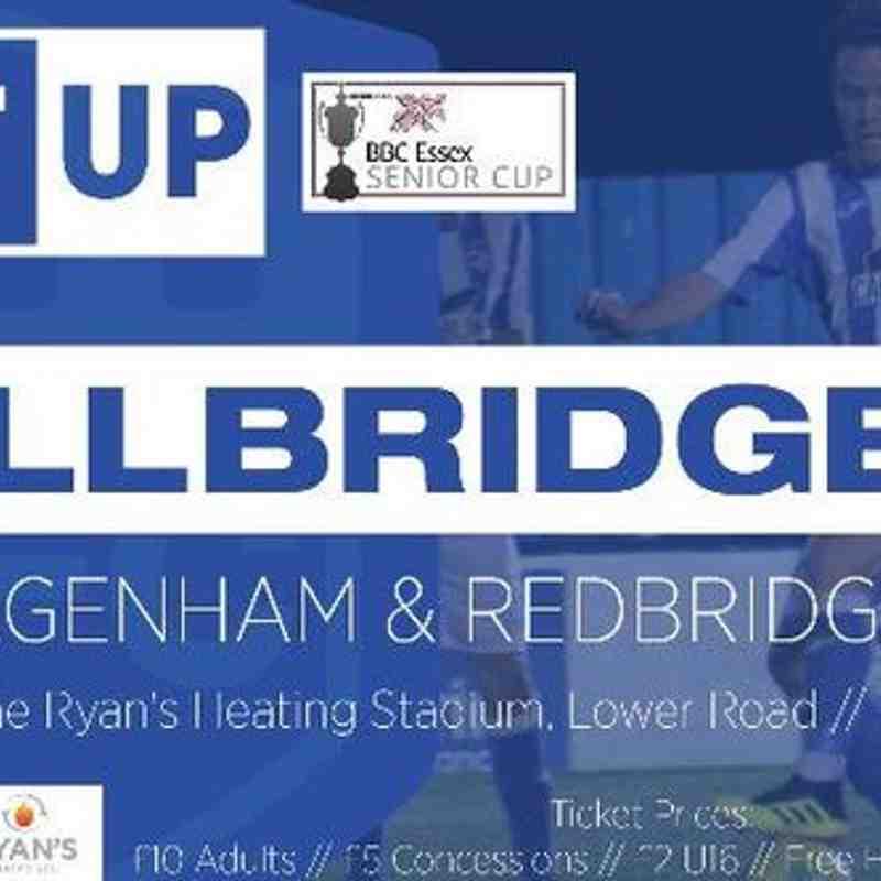 Hullbridge Sports FC v Dagenham & Redbridge FC - 15.10.2019