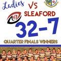 Ladies win!