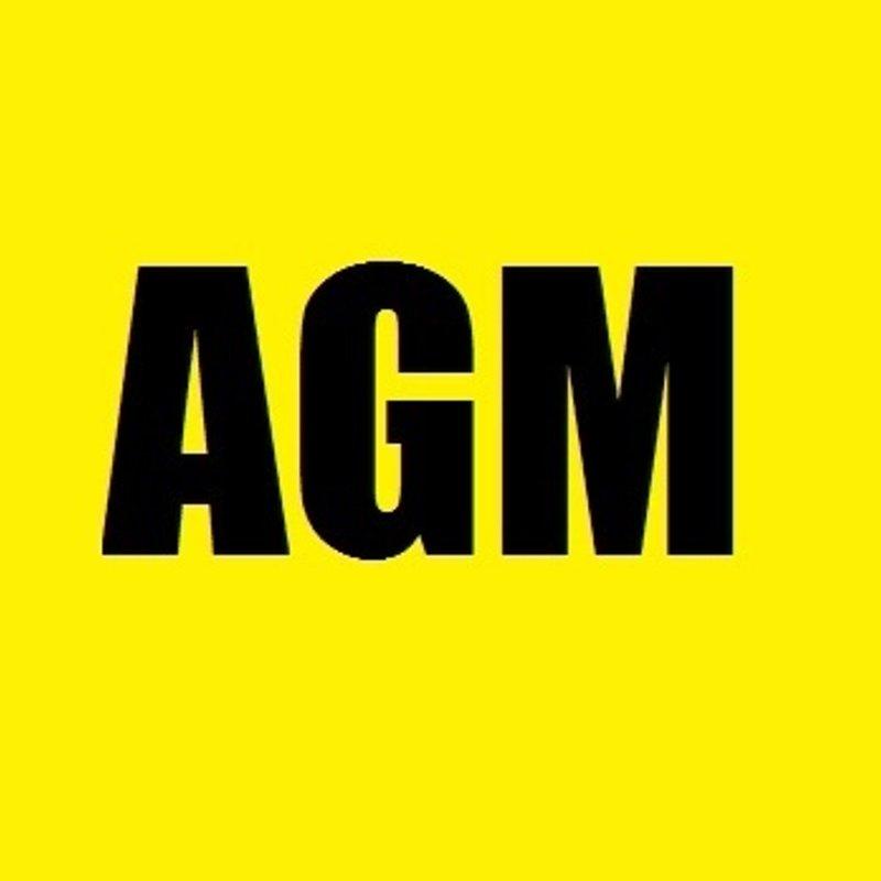 AGM 2019 Thursday 23rd May