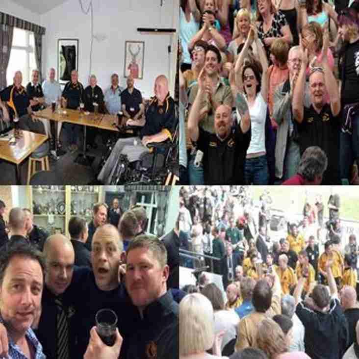 Spectators rejoice in reunion