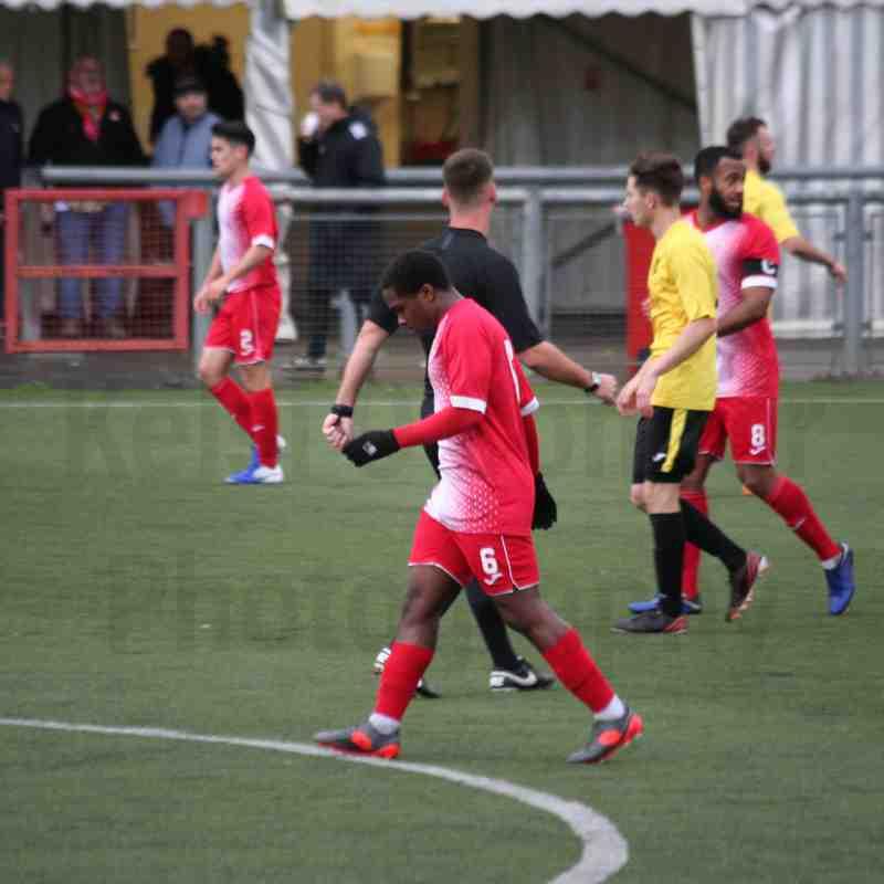 2nd November Harlow 2-0 Westfield