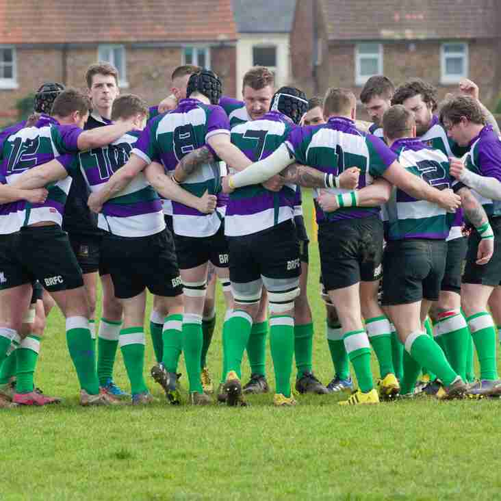 BOGNOR 1ST XV RUN IN