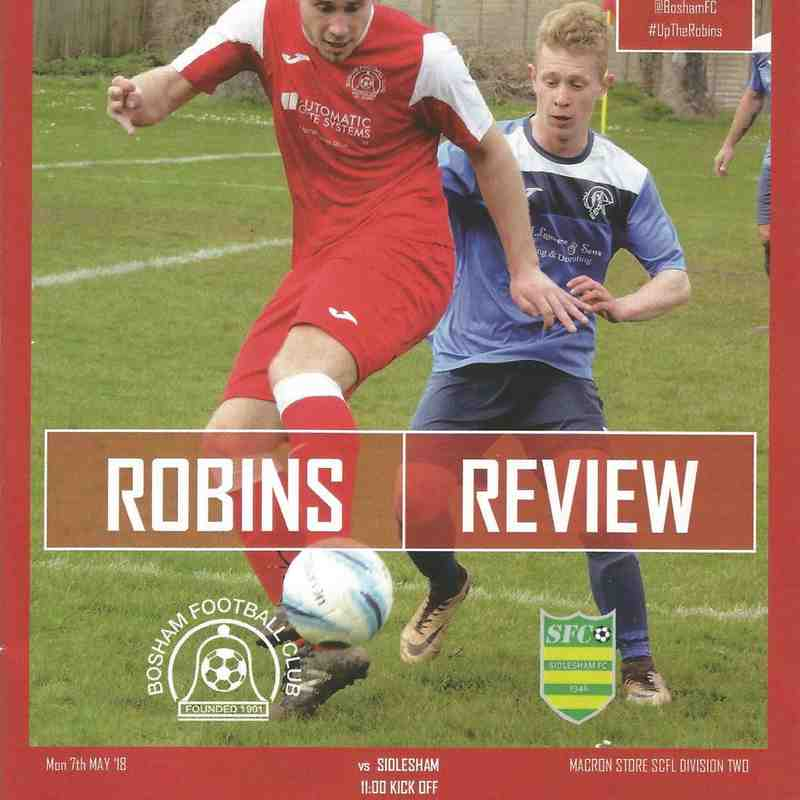 Bosham Vs Sidlesham 07/05/2018 Part Three