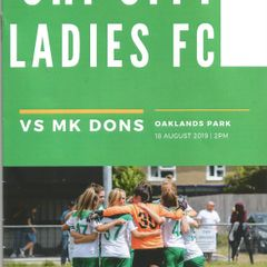 Chichester City Ladies Vs MK Dons Woman