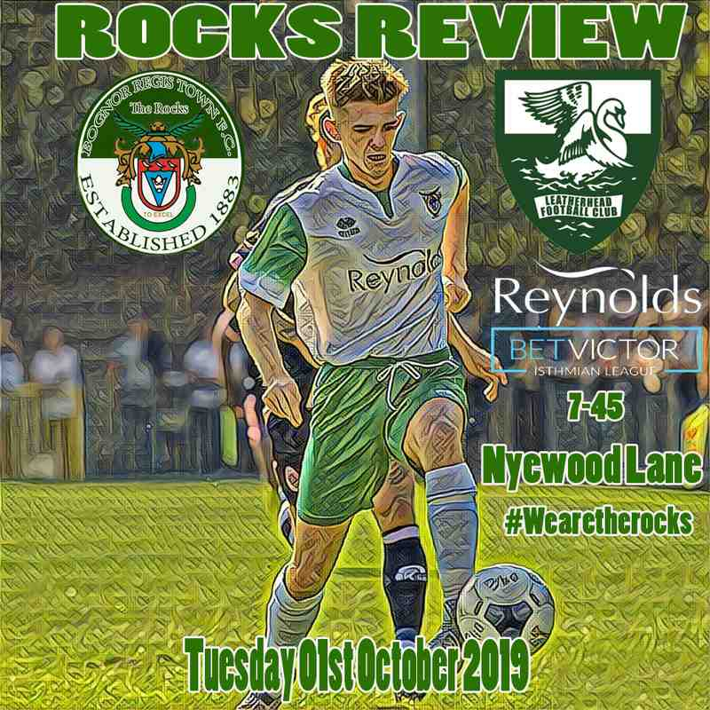 Bognor Regis Town Vs Haringey Borough 28/09/2019
