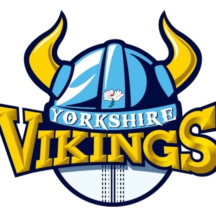 2 Tickets to Yorkshire Vikings vs Durham Jets available @ £5 each<