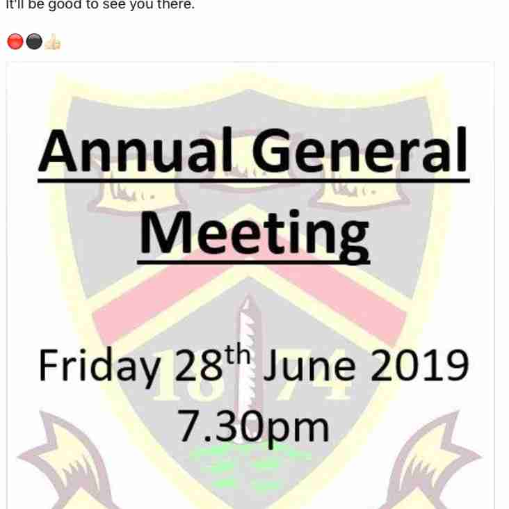 AGM - 28th June 2019