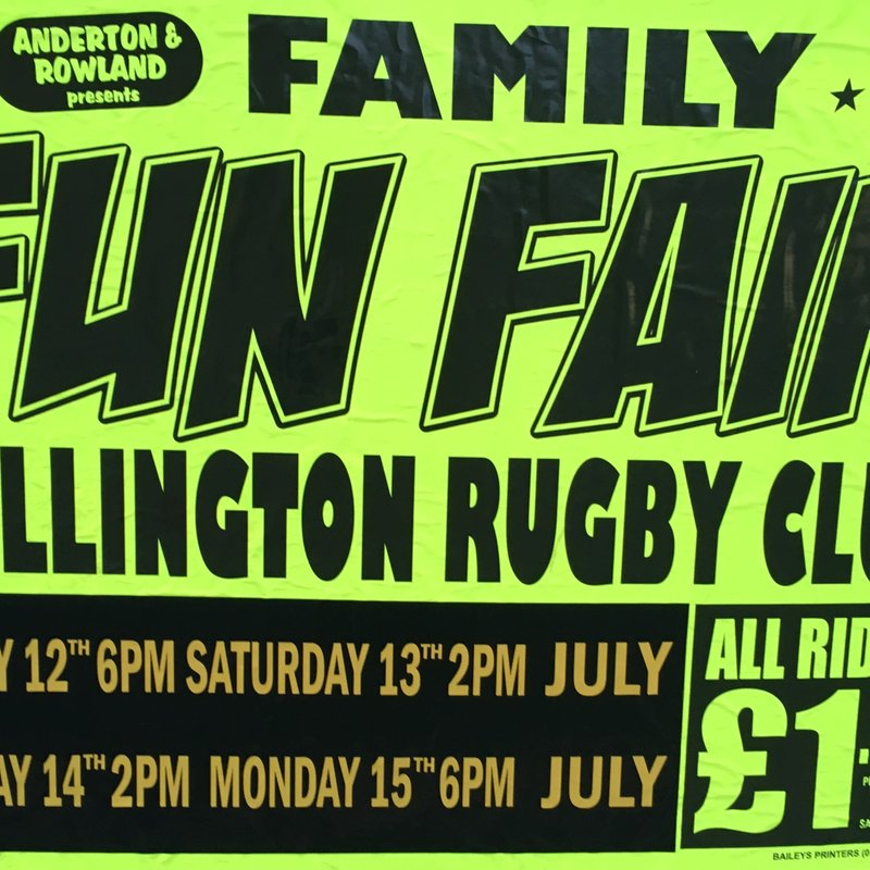 Family Fun Fair at Wellington RFC