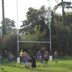u13s v Clevedon 7th October 2012