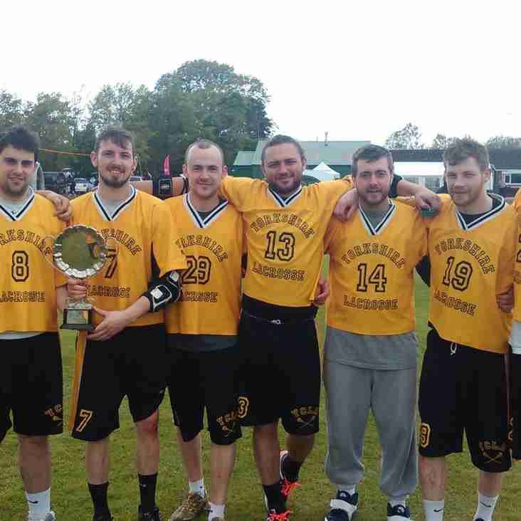 Yorkshire Win Plate at the National Lacrosse Championships of Britain