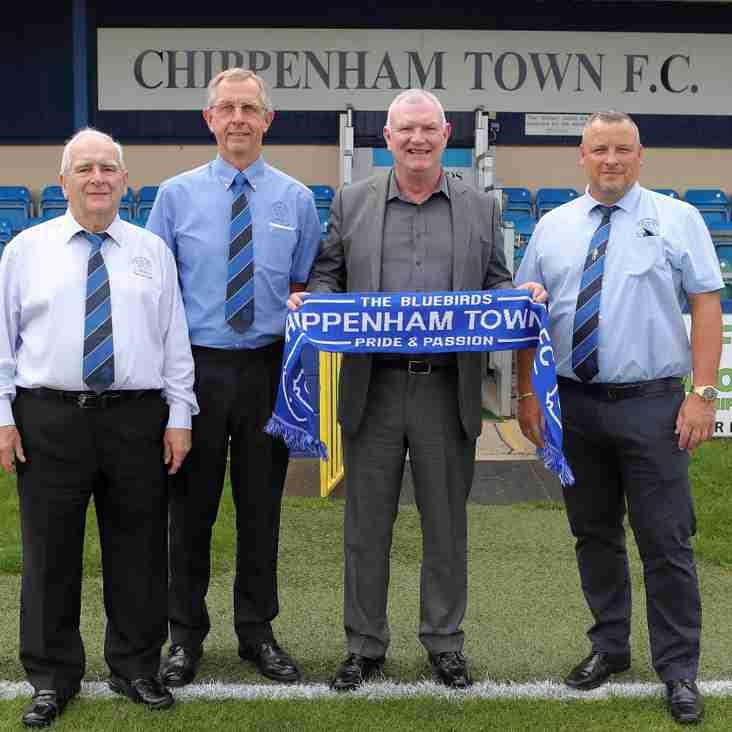Visiting FA Chairman Greg Clarke
