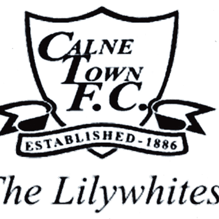 WILTS COUNTY FA SENIOR CUP - ROUND 2 - CALNE TOWN AWAY