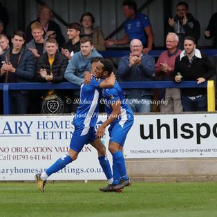 CHIPPENHAM TOWN 2 1 TONBRIDGE ANGELS – Sat 7th Sept 2019