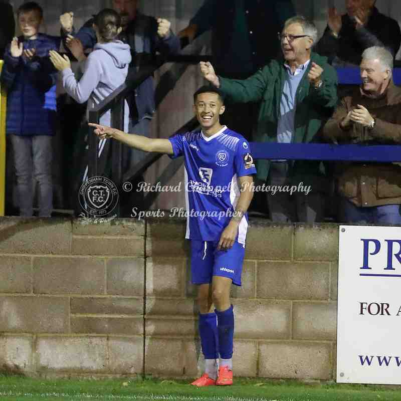 Chippenham Town V Cirencester Town Replay Match Pictures 24th September 2019