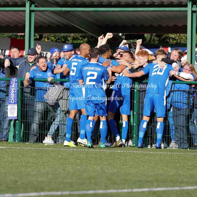 Chippenham Town V Whyteleafe FC F.A. Cup 4QR Match Pictures 19th October 2019