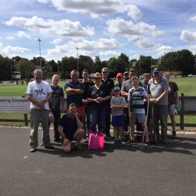 Club Tidy Up Morning - Sat 11th August