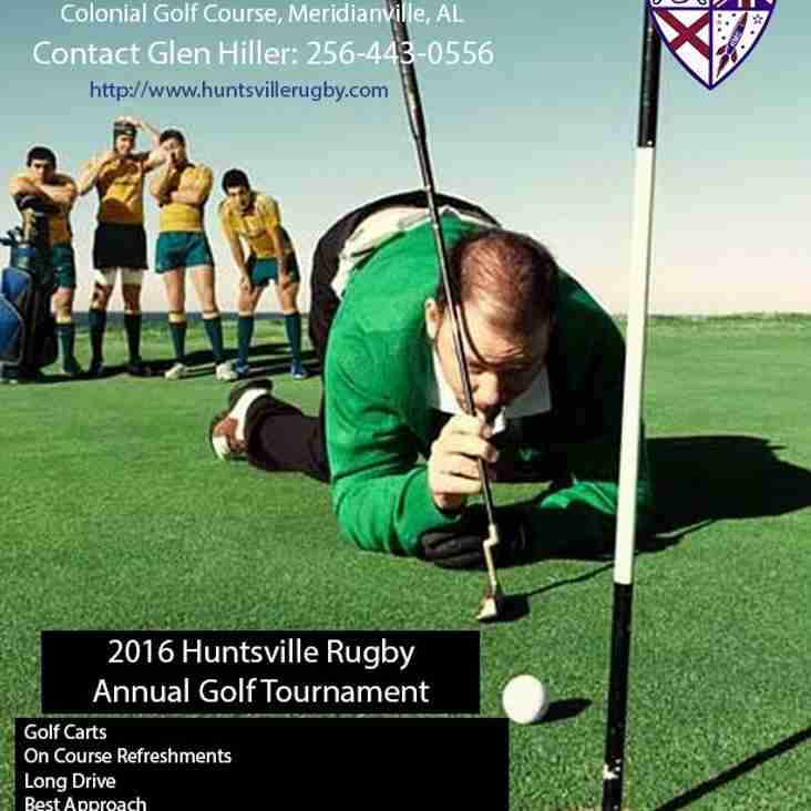 Huntsville Rugby Club's Annual Golf Tourney!