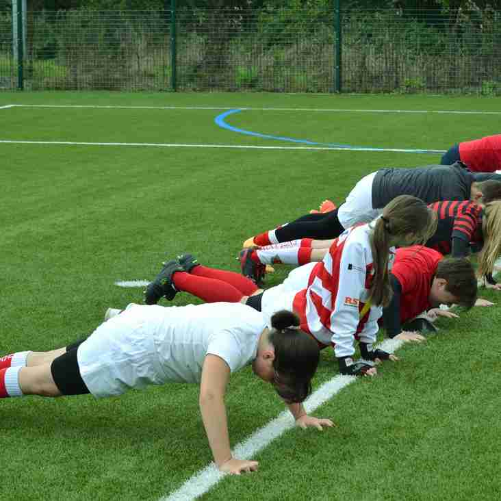 LADIES AND GIRLS RUGBY AT EUCRFC