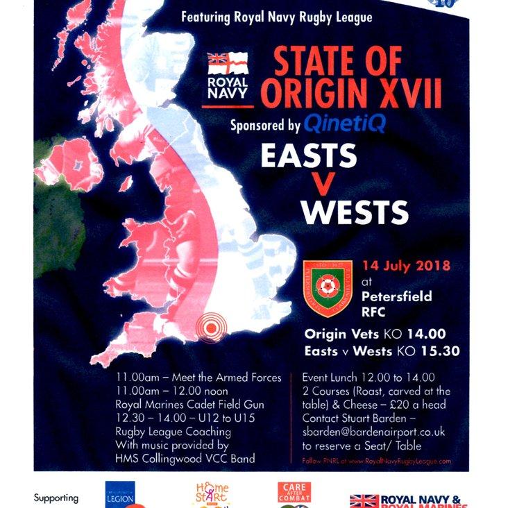 QinetiQ State Of Origin XVII<