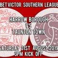 Harrow Borough vs. Taunton Town