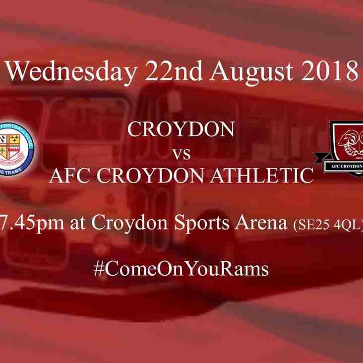 The Croydon Derby - Round 1